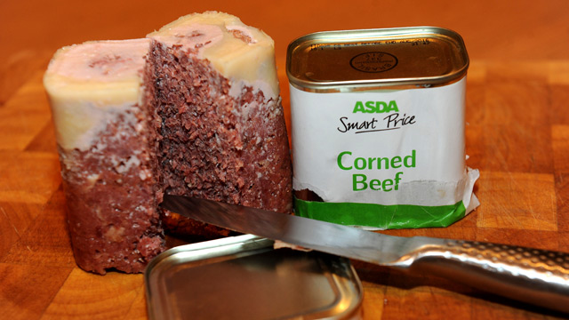 Asda corned 'beef'