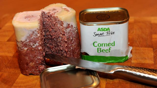 Asda corned 'beef'