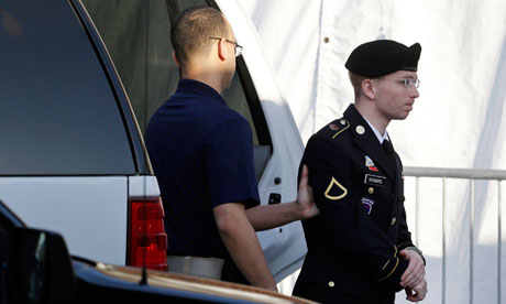 Bradley Manning in April 2013