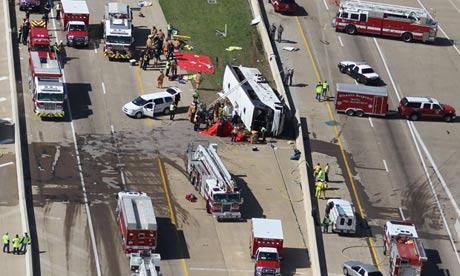 Dallas bus crash