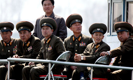 North Korean military officers