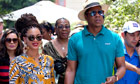 Beyonc&eacute; Knowles and Jay-Z in Havana, Cuba