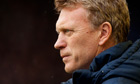 David Moyes watches Everton play QPR