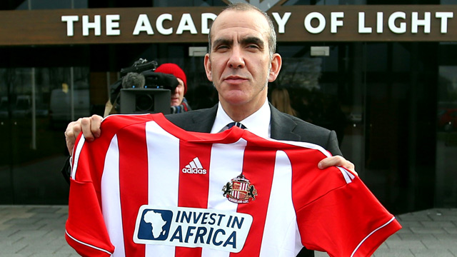 Paolo Di Canio at The Aca 002 ONeill and Di Canio a complete contrast for Sunderland