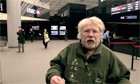 Bill Oddie protests against HSBC illegal logging in spoof documentary - video