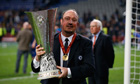 Rafael Ben&iacute;tez sad to see Chelsea reign end after Europa League success - video