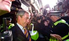 Nigel Farage mobbed in Edinburgh