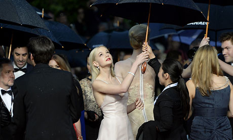 British actress Carey Mulligan in Cannes