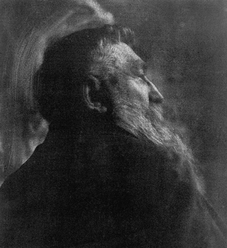 Auguste Rodin by Gertrude Kasebier