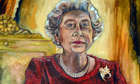 Queen portrait unveiled