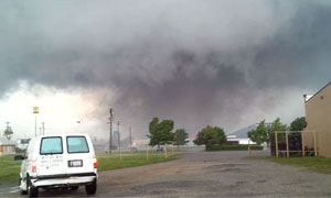 Oklahoma tornado: mobile footage compilation – video