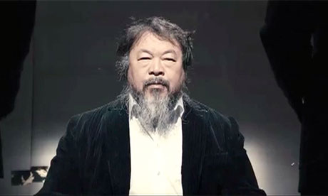 Ai Weiwei in Dumbass music video