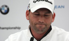 Sergio Garcia apologises to Tiger Woods over &#39;fried chicken&#39; comment - video