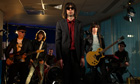 Primal Scream perform in the Guardian studio