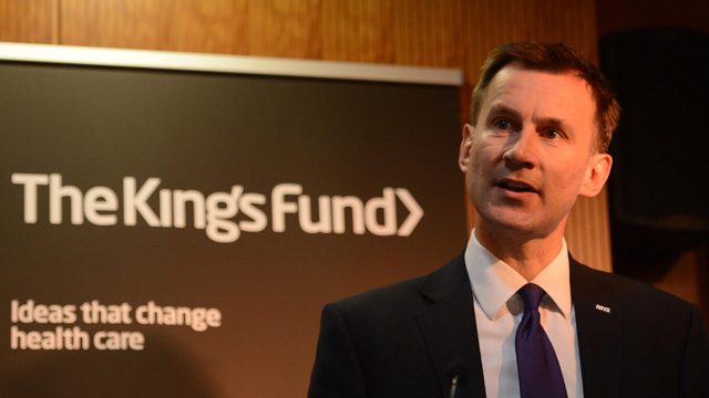 Image result for iMAGES JEREMY HUNT