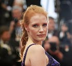 Jessica Chastain arrives for the screening of All is Lost at the Cannes