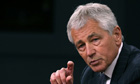Defence secretary Chuck Hagel