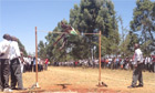 Kenyan high jumpers ditch the Fosbury Flop - video