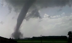 Italy tornado