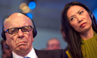 Rupert Murdoch: empire split