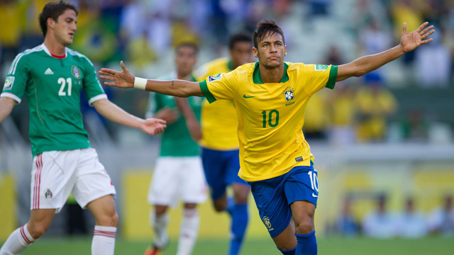 The Neymar Specials for the Brazil v Spain Confederations Cup final