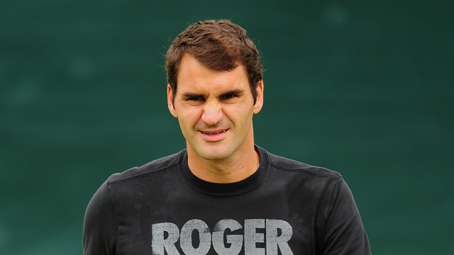 Wimbledon 2013: Federer relaxed about possible Nadal quarter-final – video