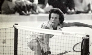 Battle of the Sexes: clip from documentary about tennis star Billie Jean King – video New documentary examines the 1973 tennis match between Billie Jean King and Bobbie Riggs