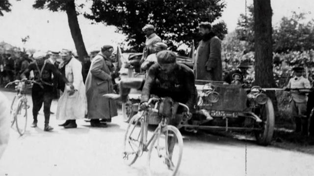 Tour de France archive: the 1903 origin of the Tour - video