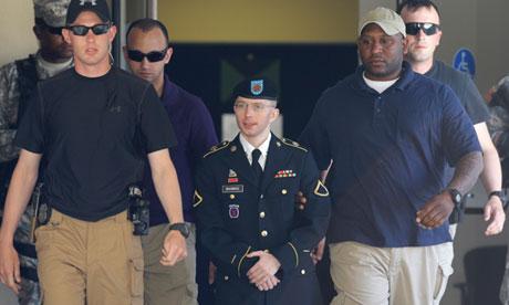 Bradley Manning at Fort Meade