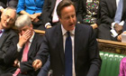 David Cameron in Prime Minister's Questions