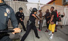 Protests against George Zimmerman acquittal in Los Angeles