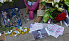 Cory Monteith memorial
