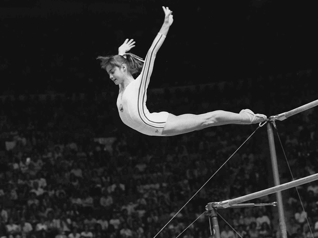 Nadia Comaneci's perfect 10 | Art and design | theguardian.