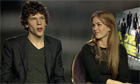 Jesse Eisenberg and Isla Fisher talk about Now You See Me