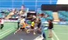 Badminton final marred after finalist att