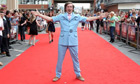 Steve Coogan as Alan Partridge at the Norwich premiere of Alan Partridge: Alpha Papa