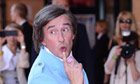 Alan Partridge in Norwich for world premiere of Alpha Papa - video