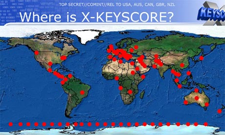 XKeyscore: NSA tool collects 'nearly everything a user does on the internet'