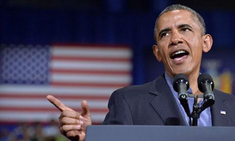 Barack Obama in Buffalo, student debt