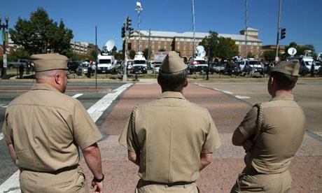 US navy members