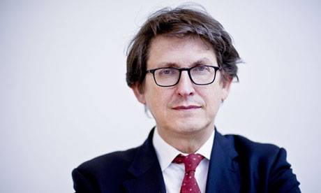 'All sorts of people around the world are questioning what America is doing,' Alan Rusbridger told an audience in New York. Photograph: Sarah Lee