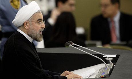 Iranian president Hassan Rouhani: