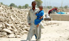 Aftermath of Pakistan earthquake