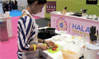 London's biggest halal food festival - video