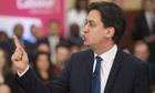 Ed Miliband speaks on banking reform