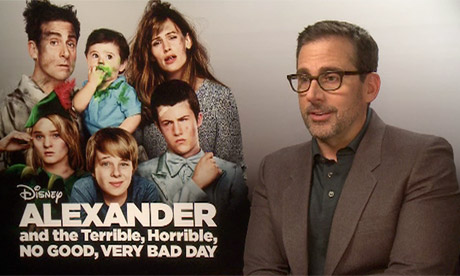 Alexander and the Terrible, Horrible, No Good, Very Bad Day star Steve Carell