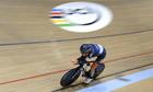 Austria's Matthias Brändle breaks hour cycling record  video