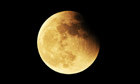 Under the blood moon: total lunar eclipse caught over China - video