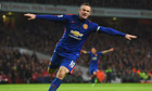 Arsenal 1-2 Manchester United: Louis van Gaal not pleased with win - video