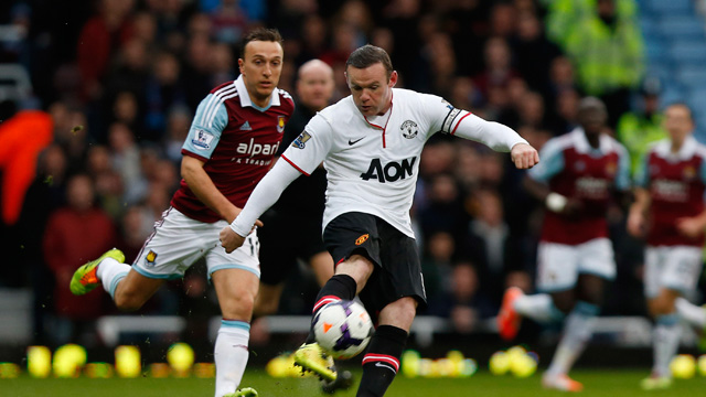 Wayne Rooney 57 Yard Goal David Moyes hails great Wayne Rooney goal at West Ham video